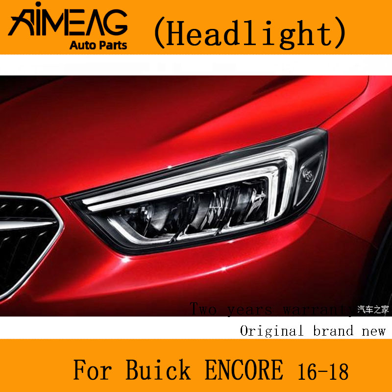 Made For 16-18 Buick ENCORE Headlamp Assembly Headlamp Left And Right Headlamp Far Light Factory Headlight