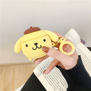 Image 5 - Bluetooth Earphone Case for Airpods 2 Accessories Protective Cover with Ring Strap case for airpods Cute Silicone Melody Design