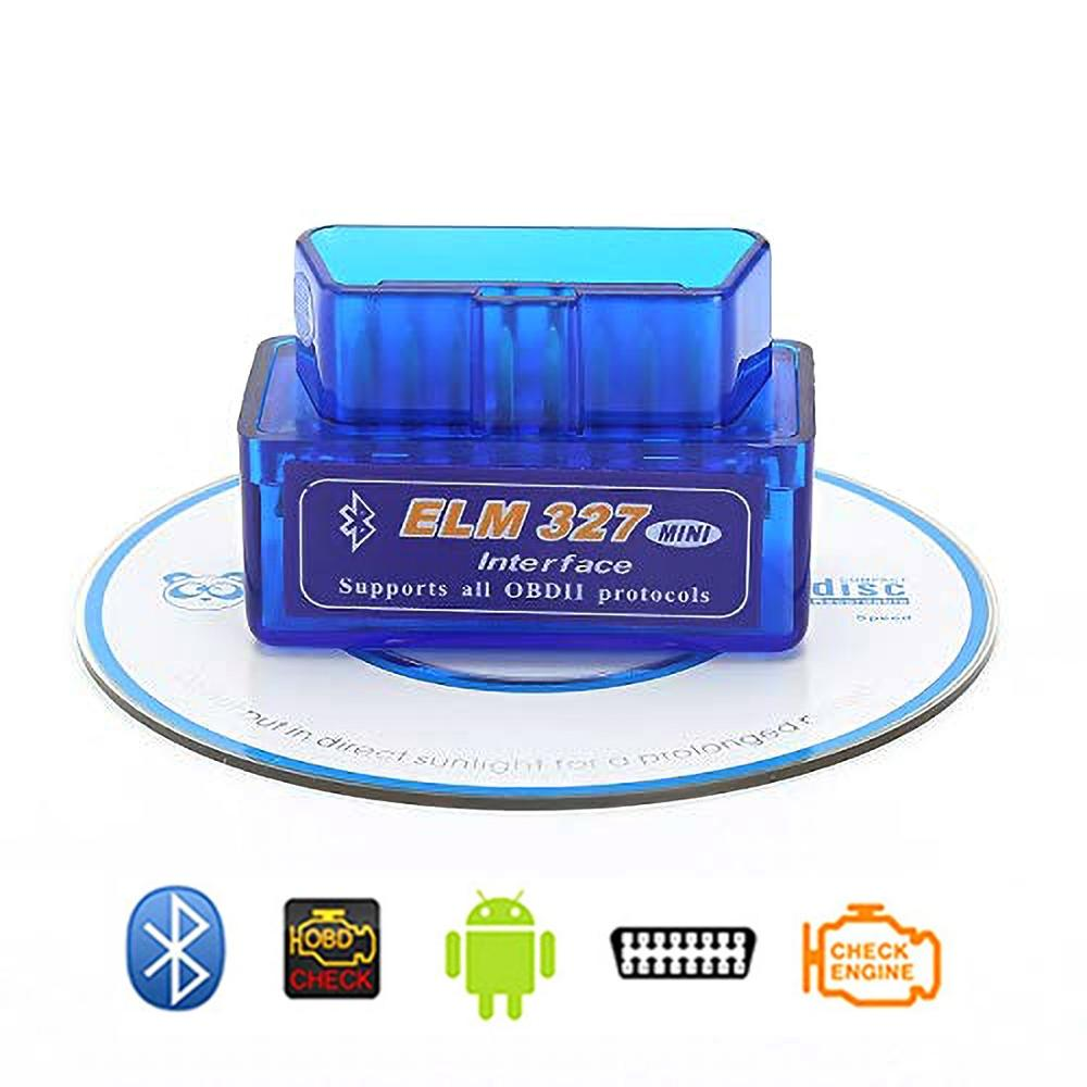 Android 5.1 Android6.0 Android7.1 Android8.0 System For OBD2 ELM327 Bluetooth Model BT OBD Tools Use In Car Navigation