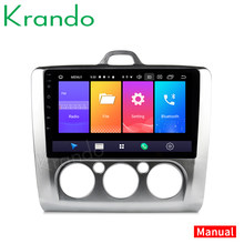 "Krando Android 9.0 9 ""Ips Full Touch Auto Multmedia Systeem Voor Ford Focus 2004-2011 Audio Player Gps navigatie Geen 2din Dvd(China)"