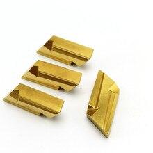 100 Chiếc KNUX160405R NC3020 Carbide Lắp Kim Loại Dụng Cụ Xoay Đánh Chỉ Mục Cắt CNC Siêu Cứng Đeo Dụng Cụ Knux 160405R