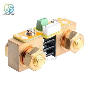 Image 5 - DC 8 80V 50A 100A 350A סוללה בודק מתח הנוכחי מד סוללה קיבולת צג מחוון מד זרם מד מתח