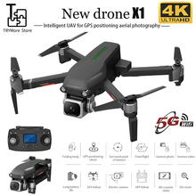 New X1 Rc Drone With Gps Hd 4k Camera 5g Wifi Brushless Motor Control Distance 1