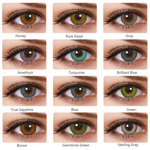Multi Color Colored Lenses Beautiful Pupil Contact Lenses Cosmetic Halloween Contact Lenses For Eyes Anime Cosplay Contact Lens cheap Dreayum CN(Origin) 0 04KG 2Pcs pair Colored Contact Lenses Eye Cosmetic HEMA Colored Contact Lenses Eye Cosmetic Annual Color Contact Lenses