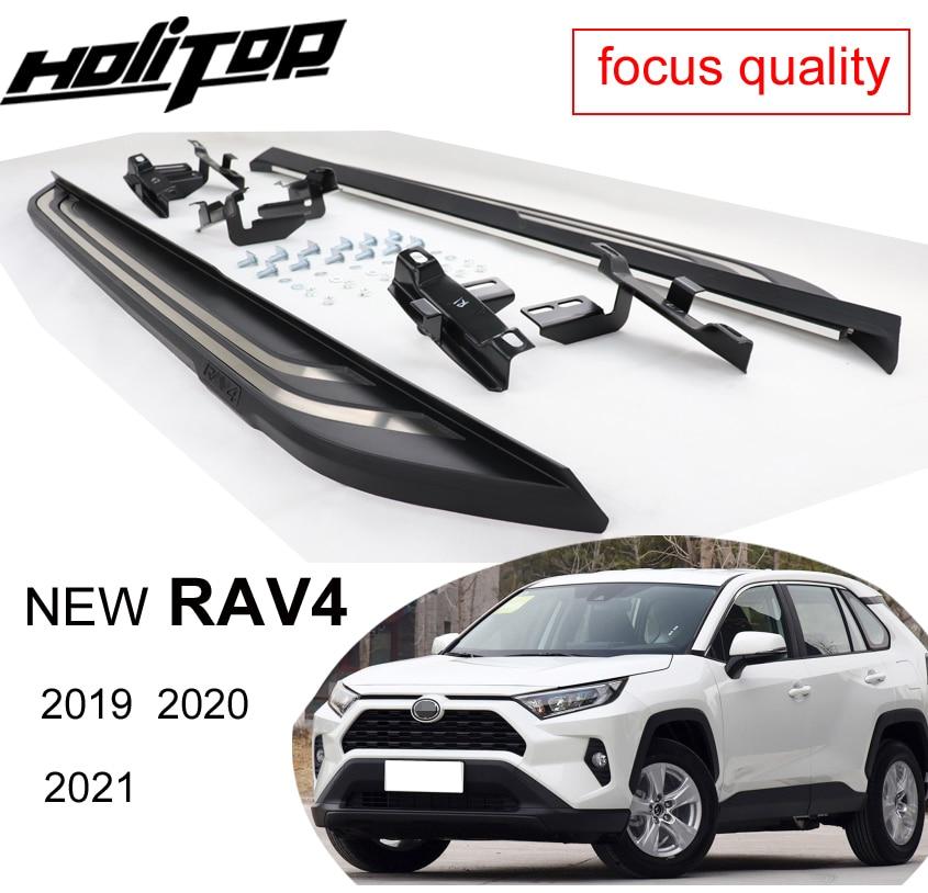 Боковые подножки OE, боковые подножки для Toyota RAV4 2019, 2020,ISO9001, от старого производителя, специальное предложение, 7 дней
