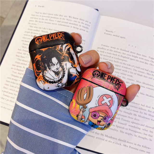 3D ONE PIECE THEMED AIRPODS CASE (11 VARIAN)