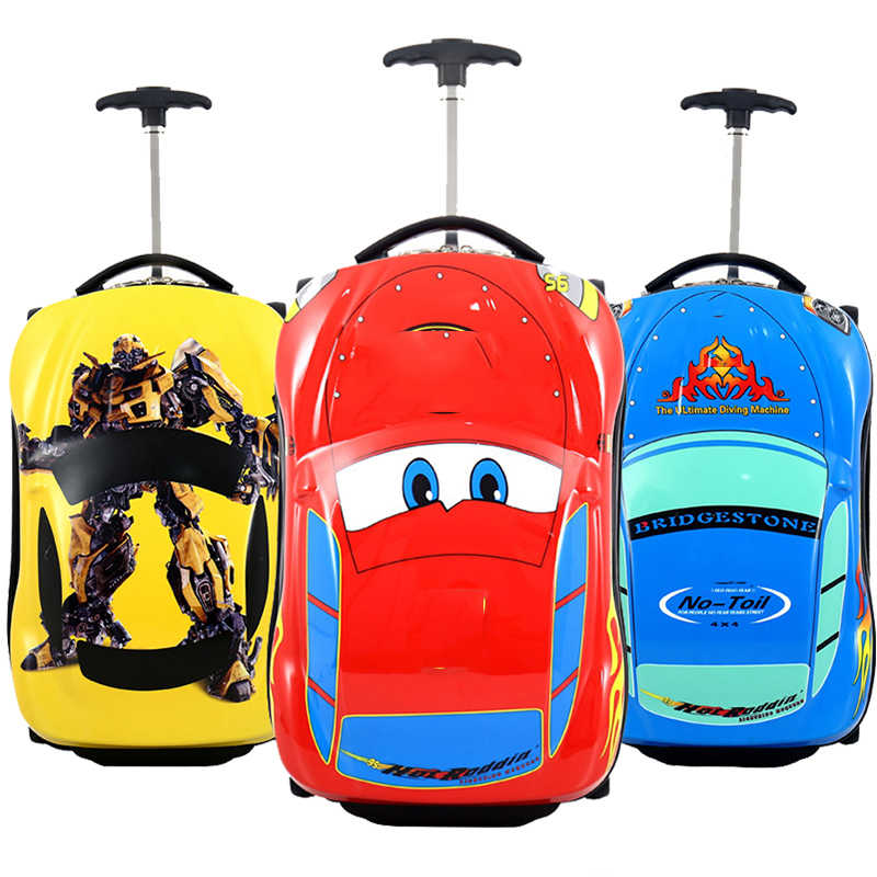 Boys Rolling Suitcase