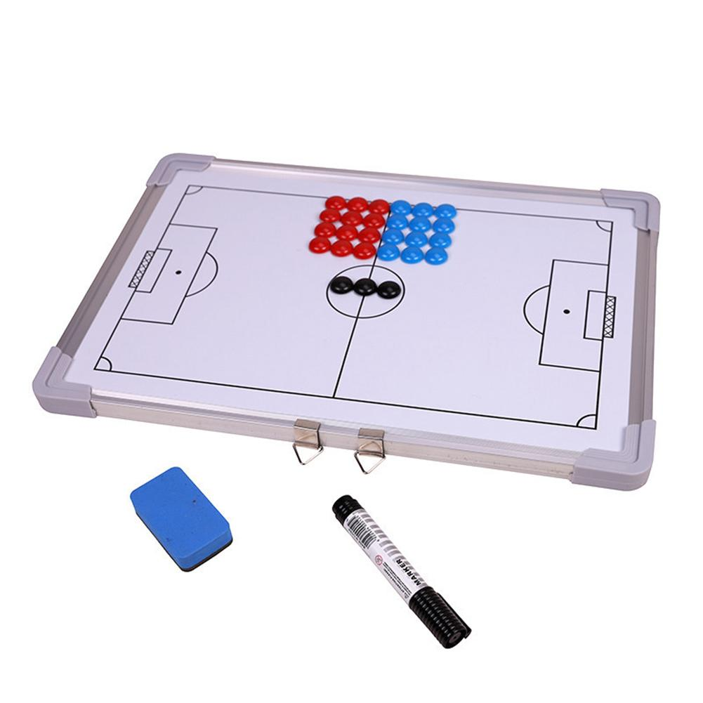 Football Coaching Board Super Magnetic Tactical Plate Big Book Set With Pen Teaching Clipboard Soccer Coach Board