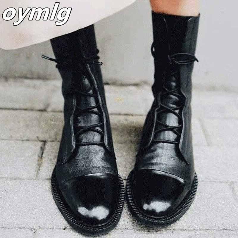 Botas de nieve blancas para mujer 2019 otoño botas de estilo