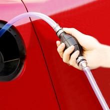 Универсальный ручной насос для газового масла, автомобильный топливный насос, ручная всасывающая труба, Прокачка, прочный для жидкого бенз...