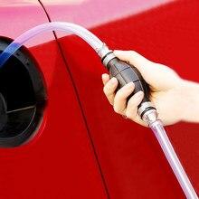 Pompe à huile à gaz manuelle universelle pompe à essence de voiture tuyau d'aspiration à main pompage Durable pour pompe à essence Diesel à essence liquide