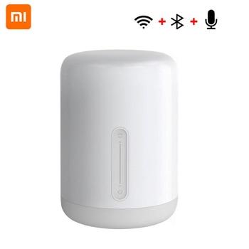 Xiaomi 2 Mijia Night Light Smart Bedside LED Desk Lamp Colorful 400 Lumens Touch Control Bluetooth Wifi for Apple HomeKit siri
