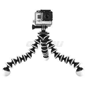 Image 3 - GAQOU Large Size Flexible Tripod Stand Mini Gorillapod Monopod Octopus Tripode for Gopro Digital Camera Canon Nikon Mobile Phone