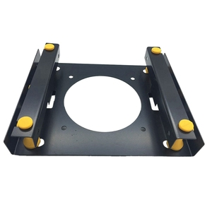 3.5-Inch Hard Disk Shock Absorber Bracket for PC Chassis 3.5 HDD to 5.25 DVD ROM Bracket Hard Disk Bracket