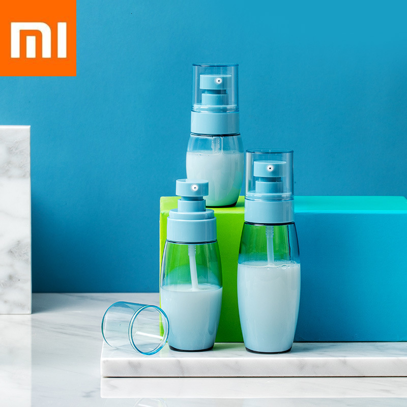 Original Xiaomi Mi Transparent Travel Cosmetic Bottles Make Up Organizer Makeup Water,Lotion,Face Cream Split Sub-bottle Suits