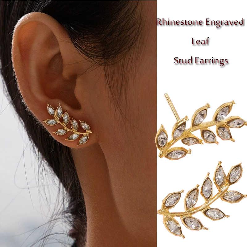 Bohemian Vintage Pearl Crystal Ear Stud Dangle Earrings Statement Jewelry Gift