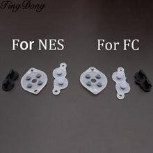 Tingdong 60 комплектов Замена для контроллера nintendo famicom