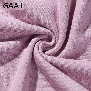 Image 5 - GAAJ 100 Cotton Men Hoodies Women High Quality Outerwear Man Autumn Spring Harajuku Hip Hop Casual Streetwear Brand Purple Pink