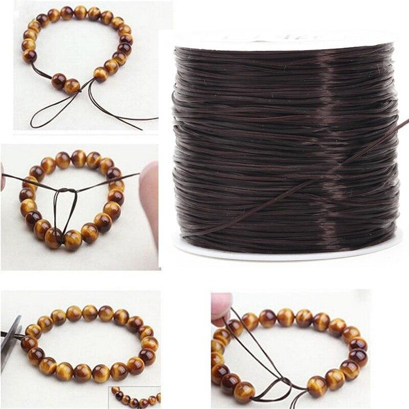 Tools DIY Necklace Bracelet Elastic Crystal Beading Cord String Thread