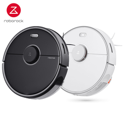 Refurbish Roborock S5 Max Robot Global Vacuum Cleaner Laser Navigation WIFI APP for Home Smart Sweeping Robotic Cleaning Mope