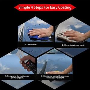 Image 5 - Car Nano rivestimento ceramico lucidatura a spruzzo cera verniciata Car Care Nano rivestimento idrofobo ceramica 120/273/500ML