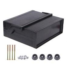 Водонепроницаемый пластиковый электронный корпус проектная коробка черный 200x175x70 мм Прямая поставка поддержка