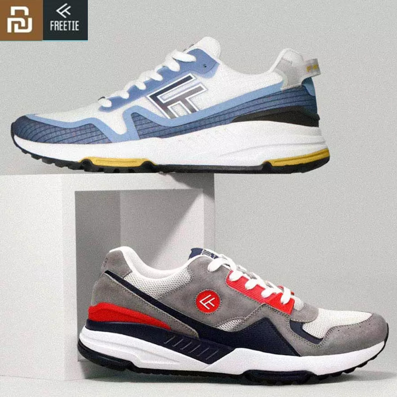 Original Freetie Retro Sports Shoes Comfortable Wearable Breathable Run Shoes High Elasticity Net Surface For Xiaomi Mijia Men Hot Deal B1a6f4 Cicig