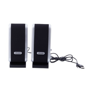 NEW 120W USB Power Desktop Computer Notebook o Speaker 3.5mm Earphone Jack
