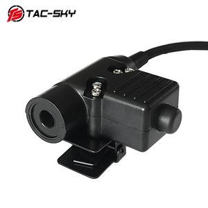 Image 3 - TAC SKY AN / PRC 148 152 152A PTT U94 PTT 6 pin military PTT U94 PTT for AN / PRC 148 152 152A walkie talkie model