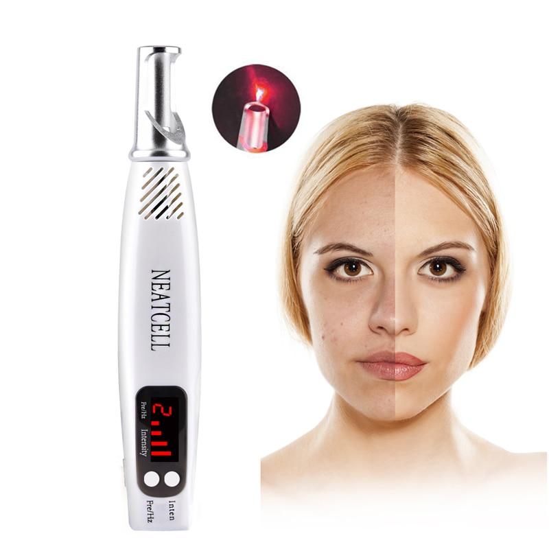 Freckle Tattoo Scar Dark Spot Removal Mini Laser Picosecond Pen For Skin Pigment Therapy Anti Aging Home Salon Spa Beauty Care