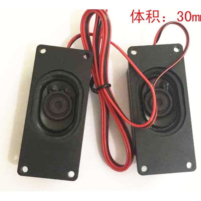 For LCD LED Controller Board kit TV EDP M.NT68676 Speaker 8ohm 5W 4Pin Cable mini 1