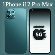 I12 Pro Max Globale Version Smartphone 7,2 zoll Volle Bildschirm 12GB + 512GB Android 10 16MP + 32MP 5000mAh Handy Telefon Celular