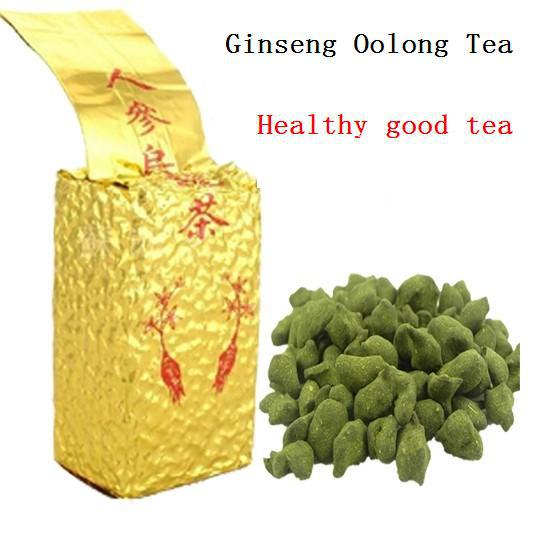 2017 250g Free Shipping Famous Health Care Tea Taiwan Dong Ding Ginseng Oolong Tea Ginseng Oolong Ginseng Tea +gift