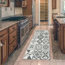 Богемный кухонный коврик, коврики в стиле бохо, противоскользящий дверной коврик, коврики, уличные коврики и коврики для дома, гостиной