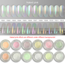 12 Colors Mermaid Nail Glitter Powder Nail