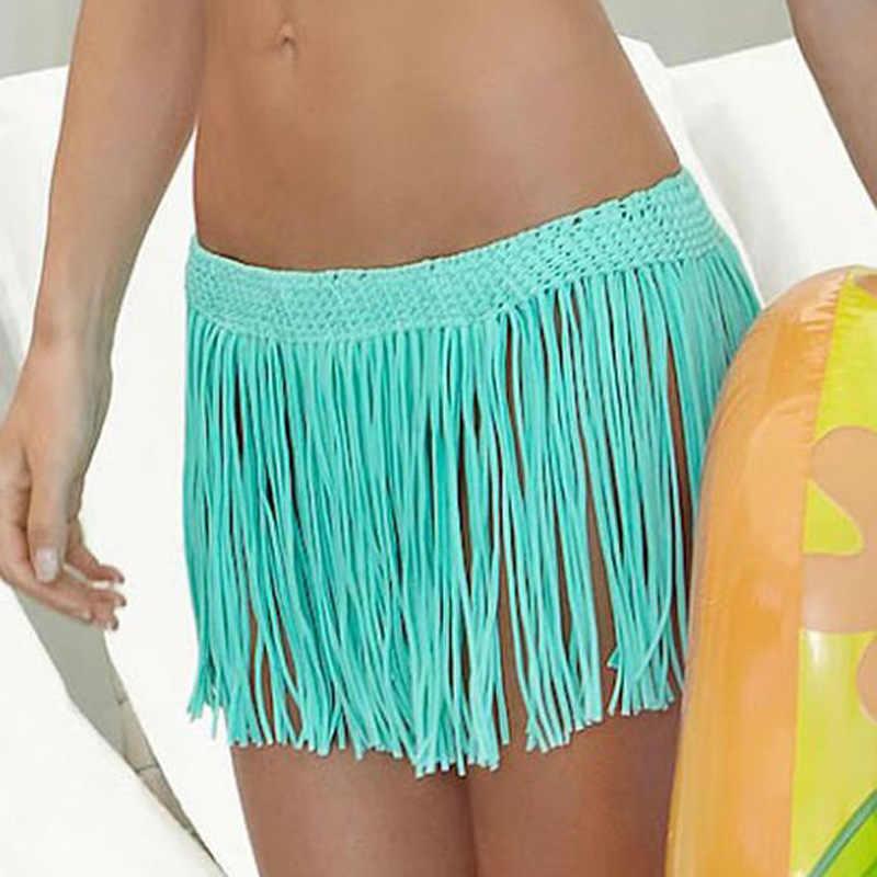 Strand Rock Bademode Pareo Bikini Abdeckung Badeanzug Neue Sexy Paar Sets | Hosen Weiß Schwarz Blau Orange Eine Größe up Häkeln