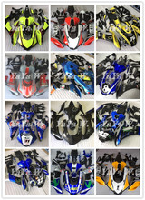 Motorcycle fairing kit For Yamaha YZF R1 2015 2016 2017 2018 Fairing  fluorescei blue white gray  yellow Red number 12 46 black