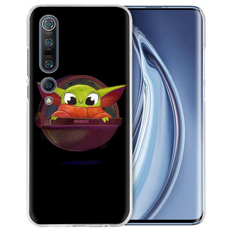 Baby Yoda Popular Sport Case For Xiaomi Mi Note 10 Pro 5G 9T 9 CC9 A3 A2 8 Lite 6X Poco X2 F2 Hard PC Phone Capas Fall