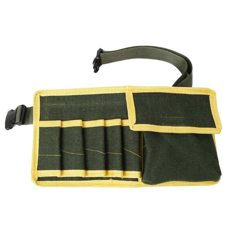 Canvas Pouch Holder Electrician Mechanic's Waist Pack Belt Work Bag Holder Tool D0AC