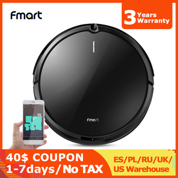 Fmart YZ-X1 Robot Vacuum Cleaner wifi,1600Pa Suction,Electric Water tank,wet and dry,110 mins Running