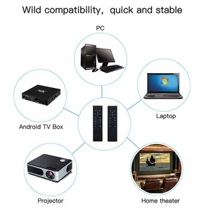 Image 4 - MT12 z pilotem Air Mouse 2.4G bezprzewodowy IR uczenia się z żyroskopem dla PC Antriod TV, pudełko x88 H96 TX6 HK1 PK G10 G20