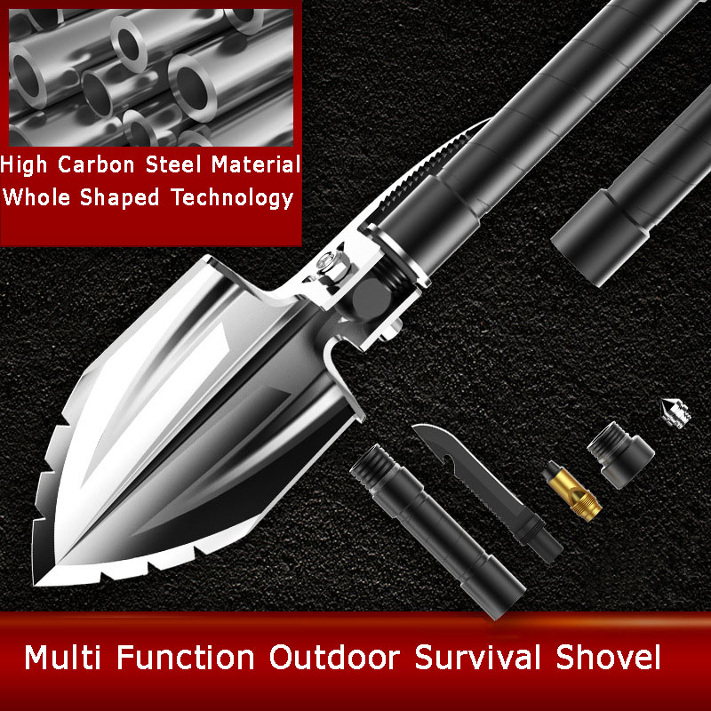 Folding Shovel Survival Shovel Entrenching Tool Portable Shovel Camping Shovel Tactical Shovel Survival Tools Military Shovel