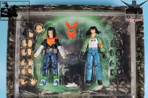 Image 4 - 在庫 1/12 アンドロイド NO.17 アクションフィギュアミールドラゴンボール超 dbz brinquedos 模型玩具セット