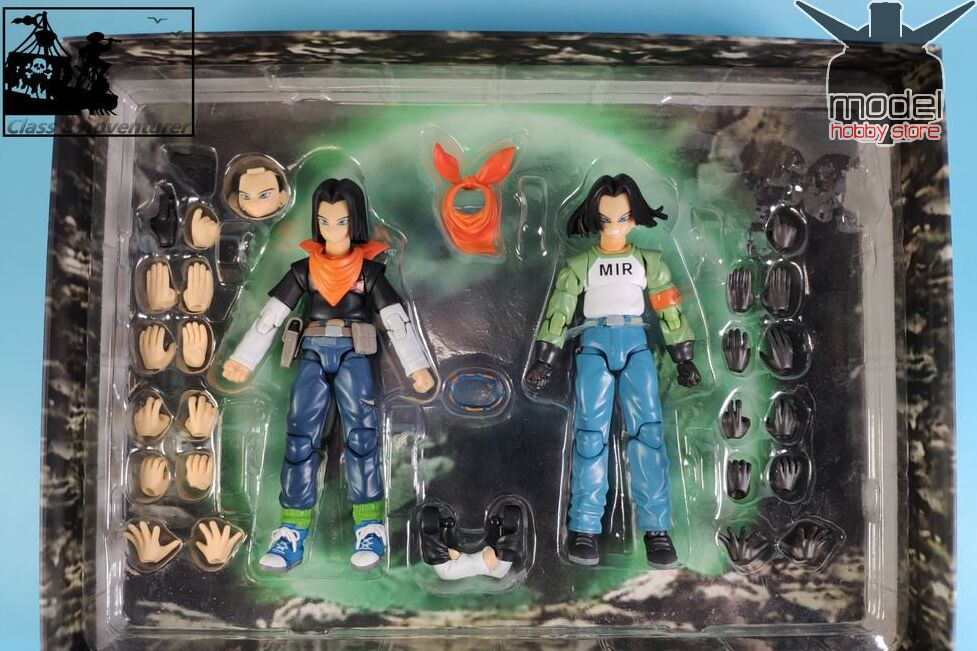 Image 4 - in stock 1/12 Android NO.17 Action Figure MIR Dragon Ball Super DBZ  Brinquedos Model Toy  set-in Action & Toy Figures from Toys & Hobbies