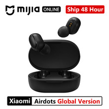 Global Xiaomi redmi airdots TWS Bluetooth 5.0 Earphone Stereo Wireless Noise Cancellation With Mic Handsfree Earbuds AI Control(China)