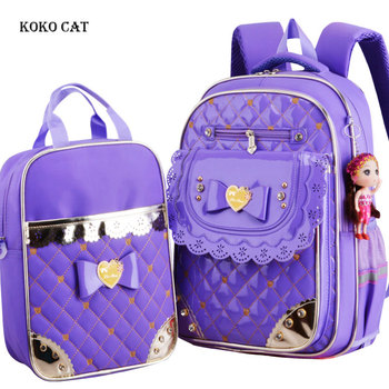 2-pcs-set-children-school-bags-for-teenager-girl-waterproof-primary-school-backpack-dots-printing-kids-daypack-mochila-escolares
