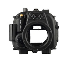 Meikon 40M/130FT Underwater Waterproof Housing Case for Canon EOS 750D (18-135MM) meikon 40m wp dc44 waterproof underwater housing case 40m 130ft for canon g1x camera 18 as wp dc44