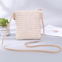 Straw Bag Handbags Women Summer Rattan Bag