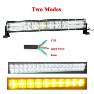 Image 5 - CREK 22 32 42 52 inch Curved LED Work Light Bar 4x4 4WD SUV ATV Offroad LED Bar Position Light For 4WD 4x4 Offroad SUV ATV Truck