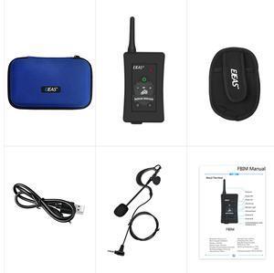 Image 5 - 3Pcs Nieuwste Ejeas Merk Fbim Voetbal Scheidsrechter Motorfiets Bluetooth Intercom Full Duplex Bt Scheidsrechter Headset Met Fm Radio